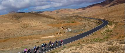 Dem Winter entfliehen: Perfekte Trainingsbedingungen auf Fuerteventura. Bild: Las Playitas