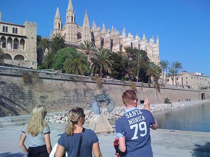 Ausflug in die schöne Hauptstadt Mallorcas