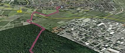 GPS-Logger: Ein ein bis auf äußerste abgespecktes Navigationsgerät