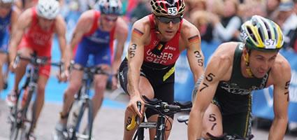 Daniel Unger wird Triathlon-Weltmeister über die Kurzdistanz