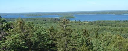 Bei schönem Wetter gibt es im Sommer kaum einen schöneren Ort als Finnland...aber wehe, der gefürchtete Landregen setzt ein. 2007 war's ganz ok.