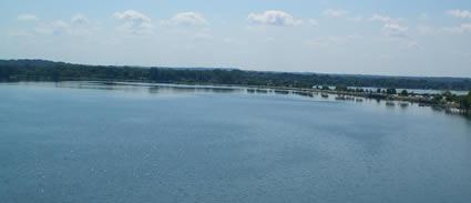 Ironman Wisconsin: Die Schwimmstrecke