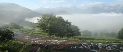 Heilige Erde: Der Anstieg nach Alpe d'Huez