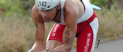 Schnellster Deutscher auf Hawaii 2007: Frank Vytrisal