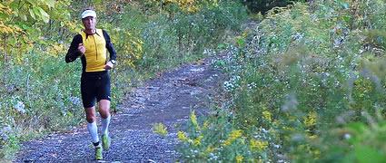 Ich wusste dass es über Trails geht, aber was für Trails!