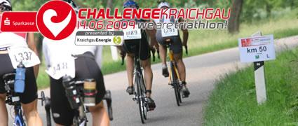 Gemeinsame Streckenbesichtigung mit den Organisatoren der Challenge Kraichgau