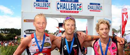 Die Sieger der Challenge Wanaka 2009