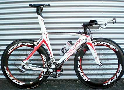 Heißes Teil: Das triathlon-szene Charity-Bike