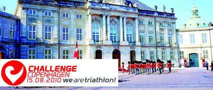 Die Laufstrecke des Challenge Kopenhagen führt neben vielen anderen weltberühmten Sehenswürdigkeiten auch an Schloss Amalienborg vorbei.