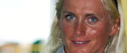Zu Gast in der Live-Sendung: Yvonne van Vlerken