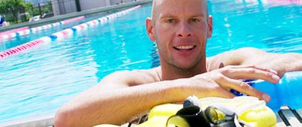 Stark im Wasser und auf dem Rad: Dirk Bockel