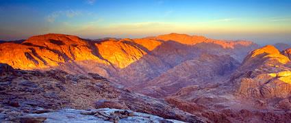 Blick vom Berg Sinai: Eine Frage des Respekts