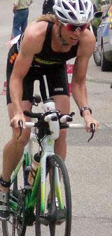 Auf dem Rad eine Klasse für sich: Sonja Tajsich