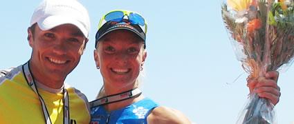 Heidi Jesberger: Dritter Platz beim Tristar Mallorca, zusammen mit Normann Stadler