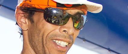 10facher Gewinner des Marathons des Sables: Lahcen Ahansal