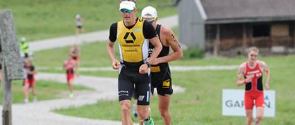 Gut drauf: Timo Bracht überzeugt beim Alpen-Triathlon