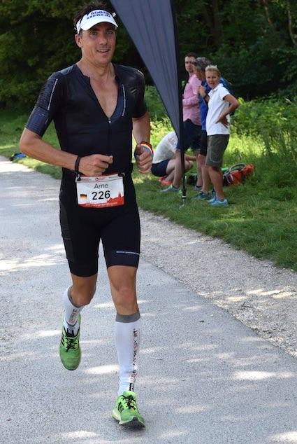 Challenge Regensburg: Auch in den einsameren Abschnitten des Marathons gibt es immer wieder Anfeuerungen
