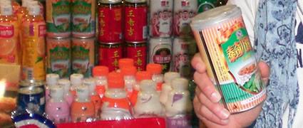 Erhitzt sich nach dem Öffnen von selbst: Hühnersuppe in China