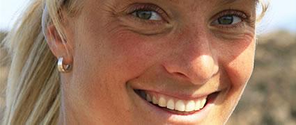 Hat gut trainiert: Heidi Jesberger