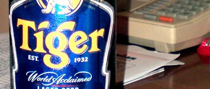 Durchlief den Frankentest: Das Tiger-Bier