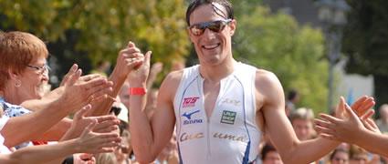 Sebastian Kienle in Heidelberg. Foto: Sportonline-foto.de