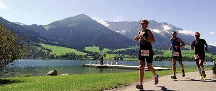 Traumkulisse für einen Triathlon. Bild: AGU Sport