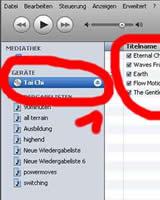 Musik von CD in iTunes importieren