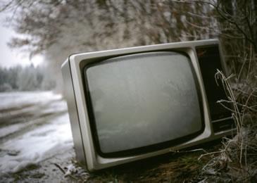 Fernseher bringt Unterhaltung in das Training