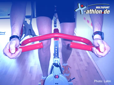 Indoor Cycling: Handposition 3