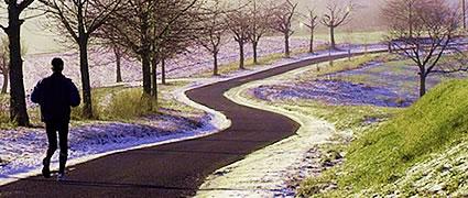 Winter und Frühling: Die Zeit der langen Läufe