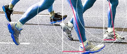 Macht schnell: Kraft und die richtige Lauftechnik