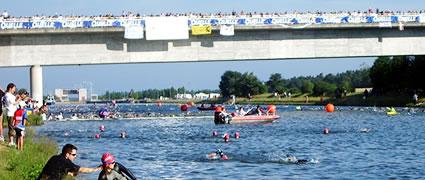 Die erste Langdistanz: Kanal in Roth. Foto: Wikipedia